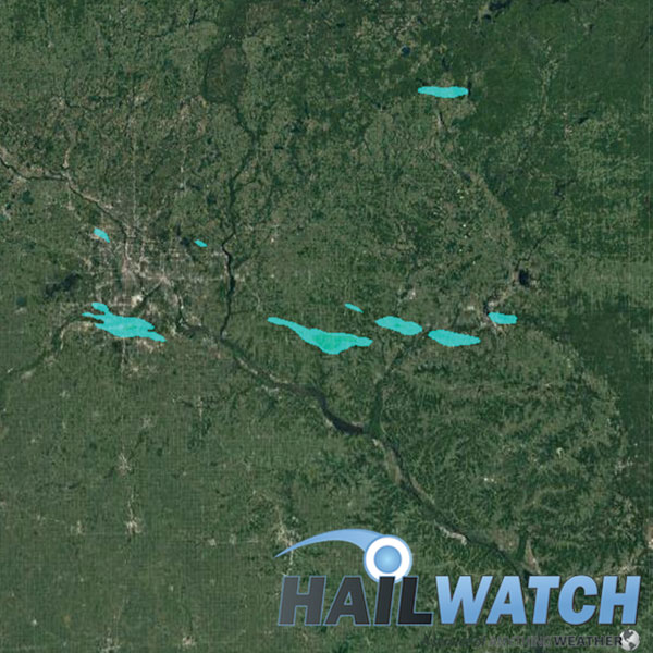 Hail Report For Burnsville Rosemount Osseo Mn Downsville Wi August 3 2018 Hailwatch