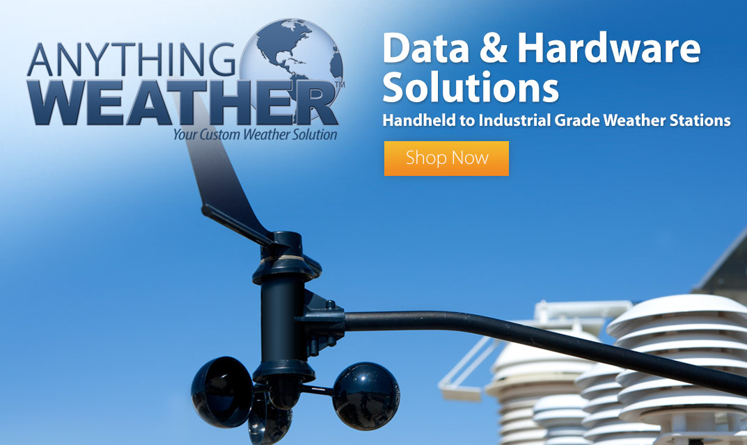AnythingWeather Hardware and Data Solutions
