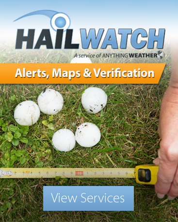 HailWATCH Alerts, Maps and Verification Services