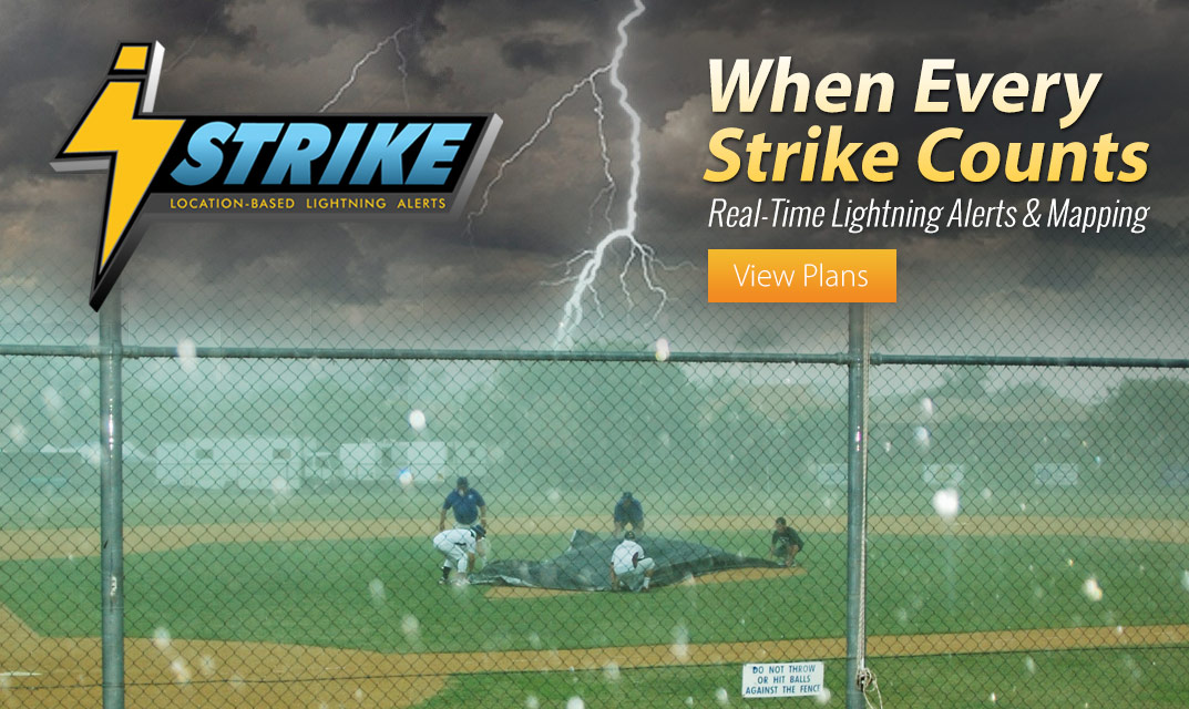 iStrike Location-Based Lightning Alerts