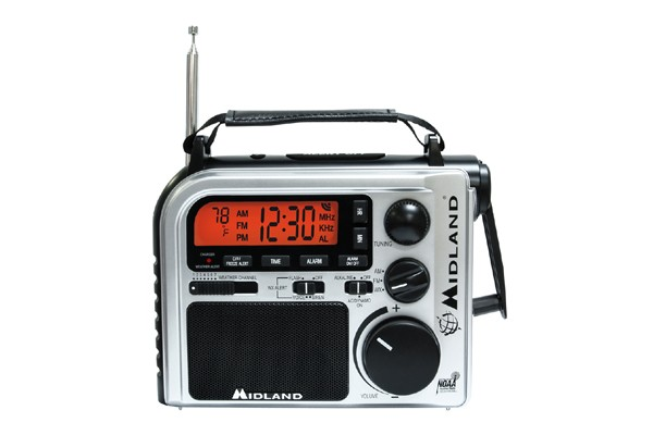 Midland Emergency Crank Weather Alert Radio - ER102