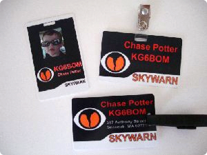 SKYWARN ID Badges Combo Pack