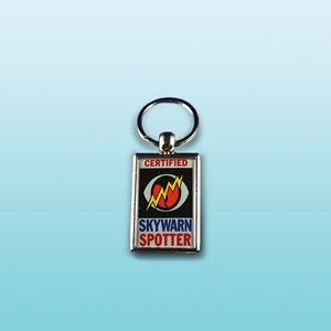 SKYWARN Certified Key Chain