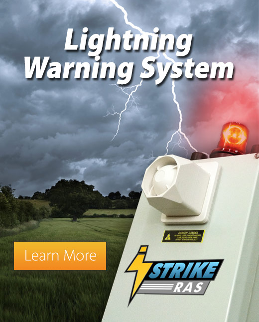 iStrike Lightning Warning Siren System