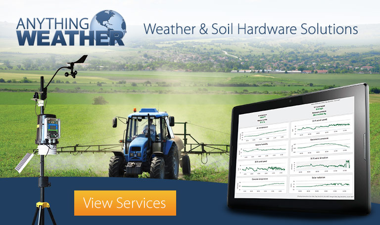 Weather and Soil Sensor Hardware Solutions