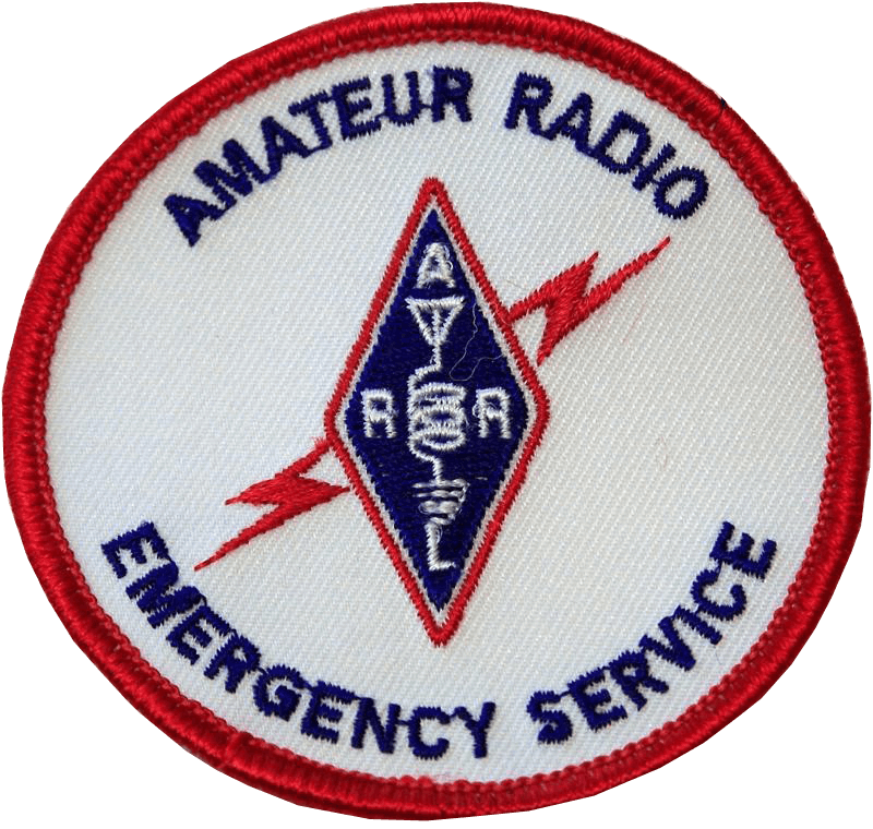 Blue Emergency Communications Vehicle Magnet sign ARES RACES SKYWARN Ham Radio