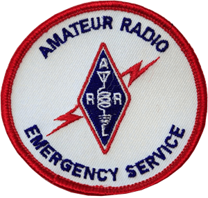 ARES - Amateur Radio Emergency Service Patch