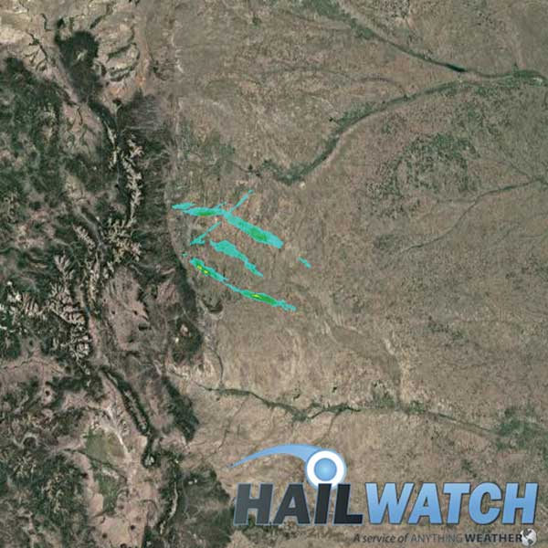 Hail Report for Castle Rock-Louisville-Aurora, CO | June 8, 2019