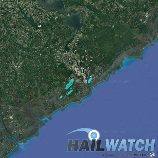 Hail Report for Charleston-Johns Island, SC | May 20, 2020