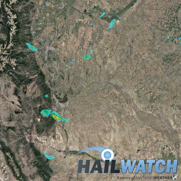 Hail Report for Colorado Springs-Golden-Security, CO | August 5, 2020
