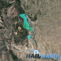 Hail Report for Colorado Springs-Manitou Springs, CO August 17, 2018