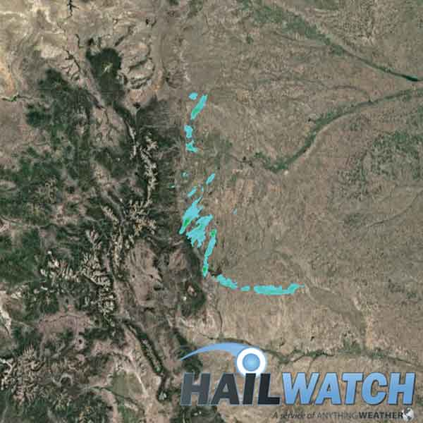 Hail Report for Denver-Parker-Centennial-Broomfield-Fort Collins, CO  | July 4, 2019