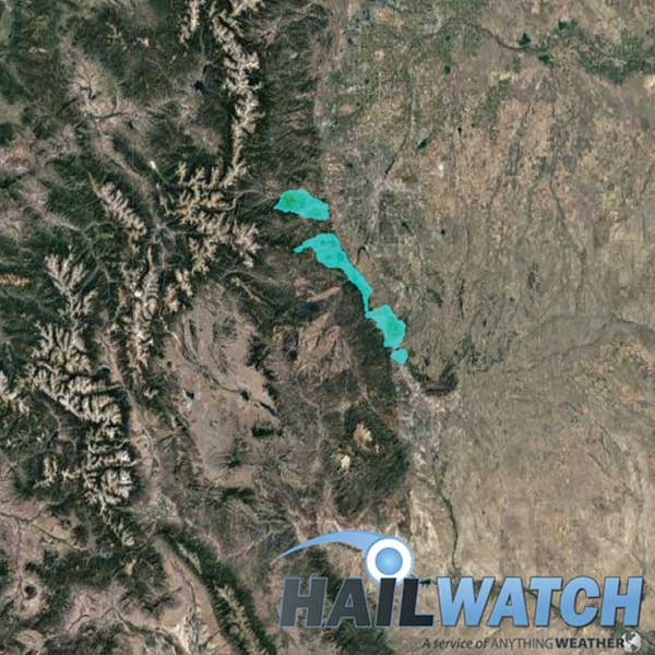 Hail Report for Evergreen-Genesee-Larkspur, CO | September 6, 2019