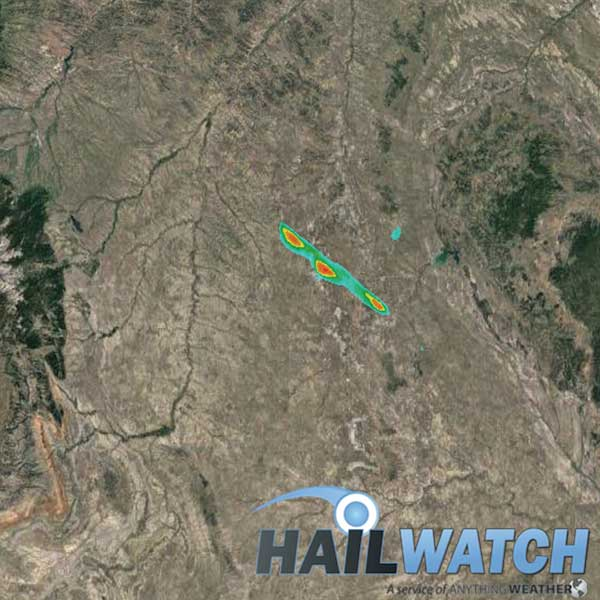 Hail Report for Gillette, WY | August 14, 2019