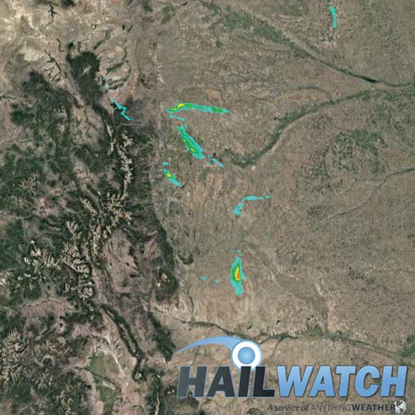 Hail Report for Greeley-Dacono-Frederick-Kersey, CO | August 4, 2020
