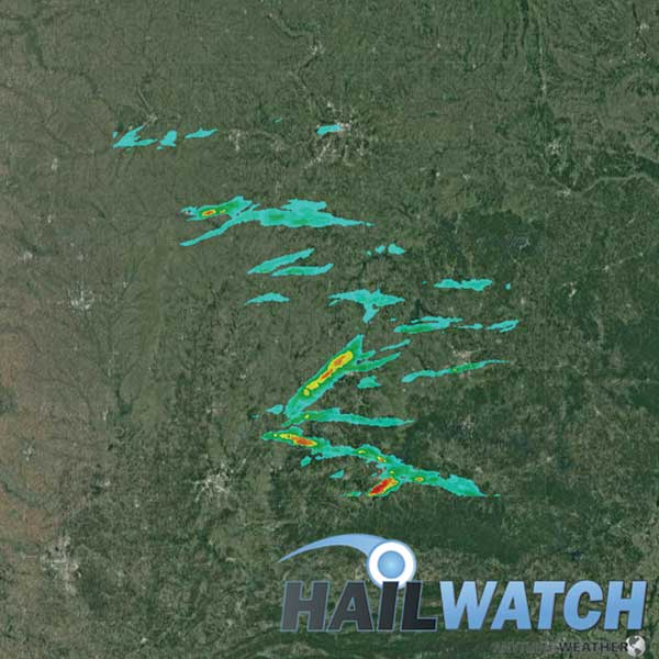 Hail Report for Joplin, MO-Big Cabin, OK-Fayetteville, AR-Abilene, KS | May 4, 2020