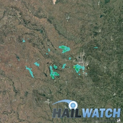 Hail Report for Oklahoma City-Mustang, OK  August 14, 2018