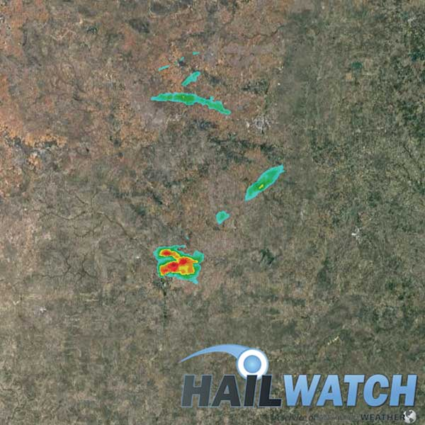 Hail Report for San Angelo-Grape Creek, TX | May 21, 2020