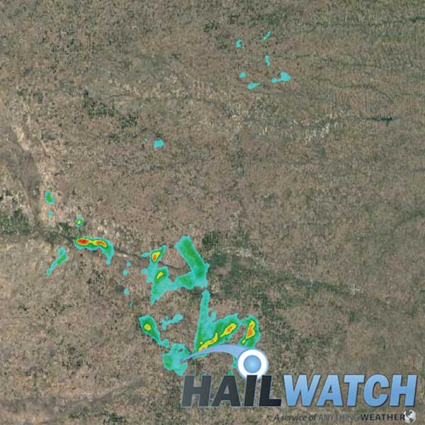 Hail Report for Sublette-Coolidge, KS-Holly, CO | May 21, 2020