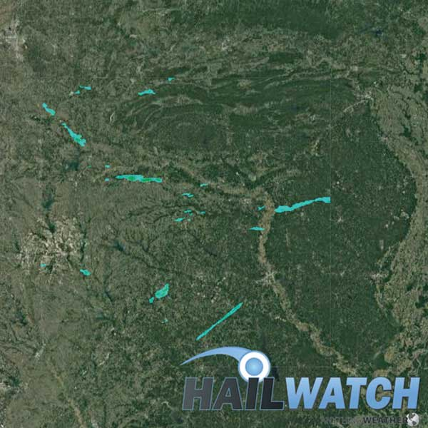 Hail Report for Tyler-Paris, TX-Toshomingo, OK-Hampton, AR | April 12, 2020
