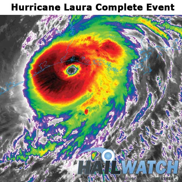 Hurricane Laura WindSWATH Complete Event