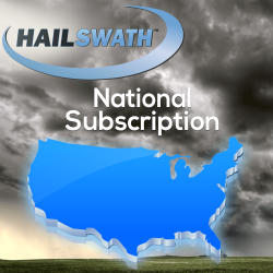 National HailSWATH Map Subscription