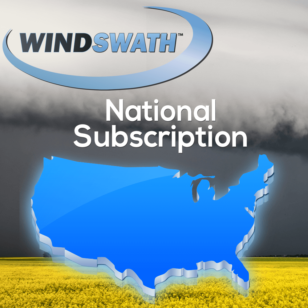 National WindSWATH Map Subscription