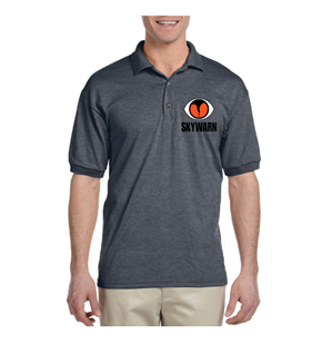 SKYWARN Polo Shirt - Grey