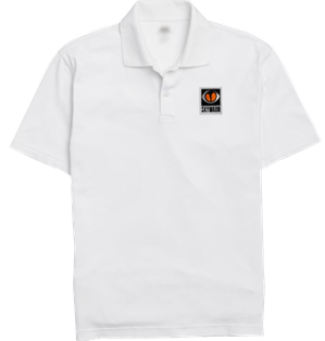 SKYWARN Polo Shirt - White