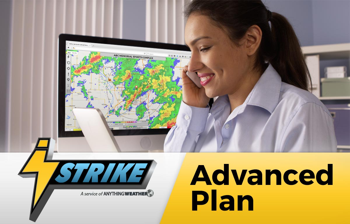 iStrike Lightning Alertse and Tracking Advanced Plan