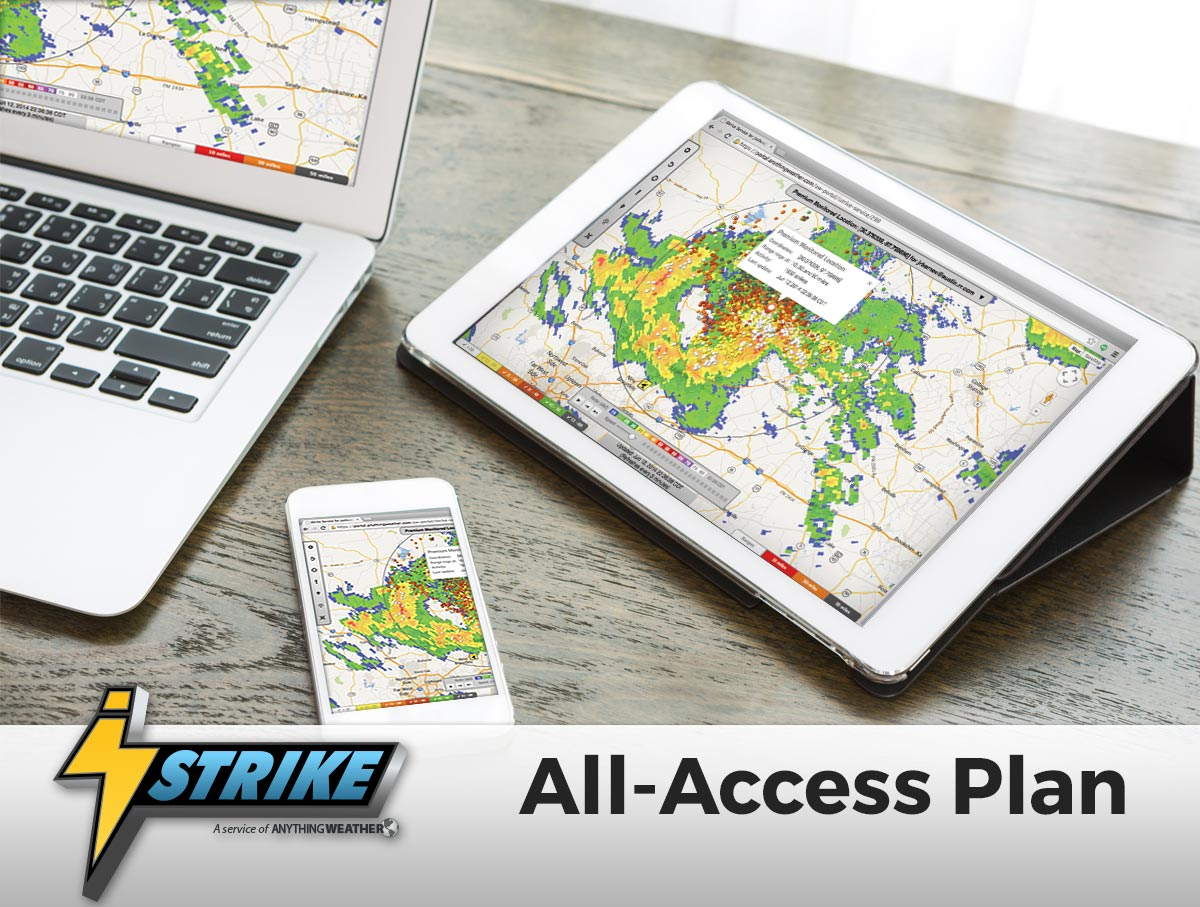 iStrike All-Access Lighting Alerts and Tracking Plan