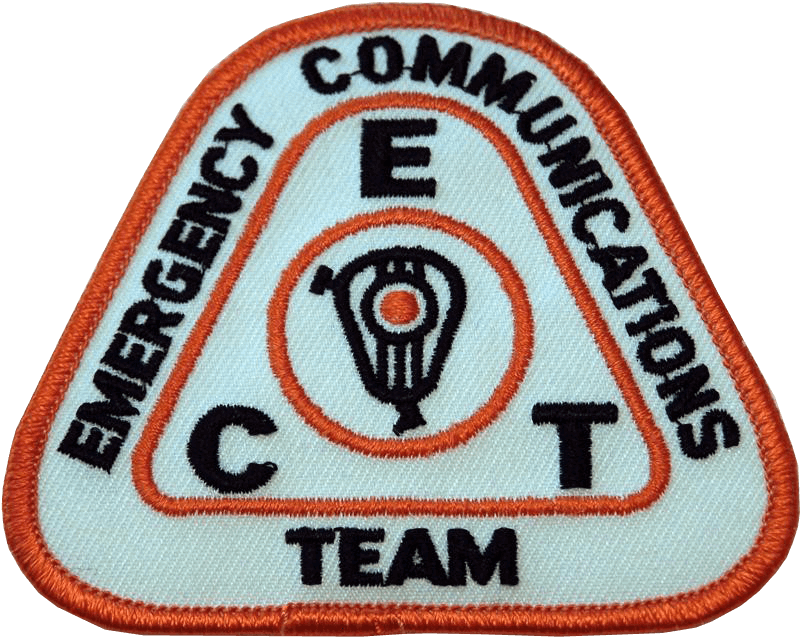 ECT Emergency Communications Team Patch