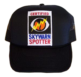 SKYWARN Certified Trucker Cap