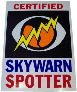 SKYWARN Certified Decals