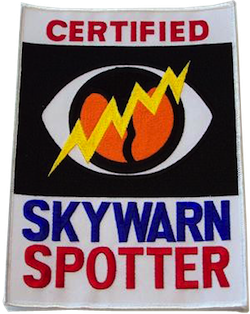 SKYWARN Certified Patch